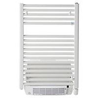 Radiateur sèche-serviettes électrique soufflant De'Longhi Air Blanc 500+1000W