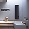 Radiateur eau chaude DELONGHI Leggero Noir 800W