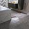 Carrelage sol et mur gris 15 x 61 cm Marbre (vendu au carton)