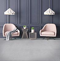 Carrelage sol gris 71 x 71 cm Resin Art 2 (vendu au carton)