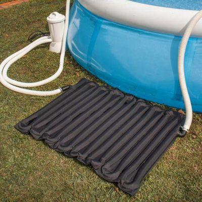 R chauffeur solaire pour piscine autoportante 8 10m3 gre for Aspirateur piscine 10m3