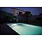 Hublot extérieur piscine/bassin LUMIHOME PVC gris LED 20W