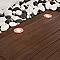 Spot extérieur encastrable LUMIHOME multicolore rond inox LED intégrée