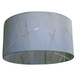 Suspension colours oregi gris l.50 x h.25 cm