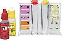 Trousse d'analyse liquide ph/chlore