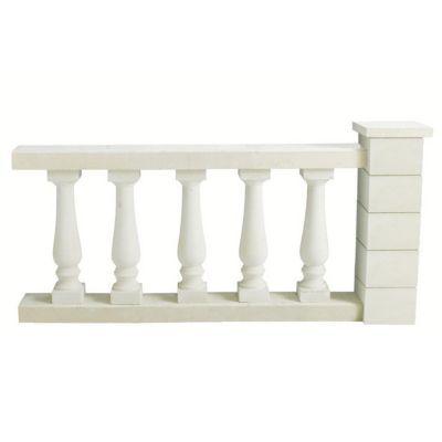 balustre ronde blanche 13 x 13 x cm castorama. Black Bedroom Furniture Sets. Home Design Ideas