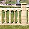 Chapeau de pilier plat SAS Périgord 28 x 28 cm