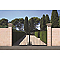 Chapeau de pilier pointe diamant Dordogne naturel 54 x 54 cm