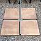 Dalle Tessera bronze 50 x 50 cm, ép.5,5 cm