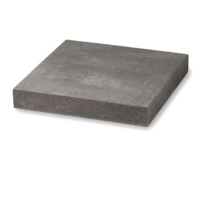 chapeau de pilier plat marbre gris 40 x 40 cm castorama. Black Bedroom Furniture Sets. Home Design Ideas
