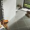 Carrelage sol et mur gris 44,7 x 44,7 cm Neox (vendu au carton)