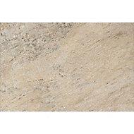 Carrelage sol extérieur beige 40 x 60 cm Oyster