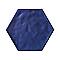 Carrelage mur bleu 17,5 x 20 cm Flooring Design Makara (vendu au carton)