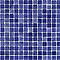 Mosaïque bleue nuit 30 x 30 cm