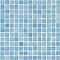 Mosaïque bleu clair 30 x 30 cm