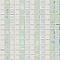 Mosaïque blanche 33 x 33 cm Linéal Perla