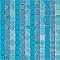 Mosaïque bleue 33 x 33 cm Linéal Glaciar