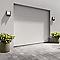 Porte de garage sectionnelle motorisée Turia blanc (en kit)