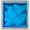 Brique de verre Brilly Nuage bleu