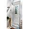 Porte d'entrée pvc Geom Conveks blanc 80 x h.215 cm poussant gauche