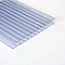Plaque alvéolaire polycarbonate transparent 300 x 100 cm, ép.16 mm (vendue à la plaque)