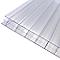 Plaque alvéolaire polycarbonate transparent 400 x 100 cm, ép.16 mm (vendue à la plaque)