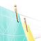Etendoir à linge extérieur Topspinner 60m + ancre métal