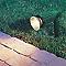 Spot extérieur à piquer AKANUA vert h.45 cm