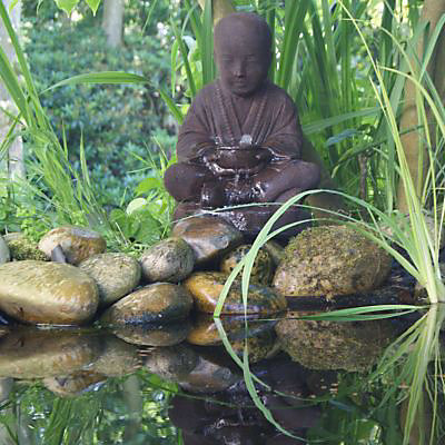 Fontaine De Jardin Bouddha Semarang Castorama