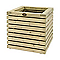 Bac carré épicéa HILLHOUT Elan naturel 50 x 50 x h.50 cm
