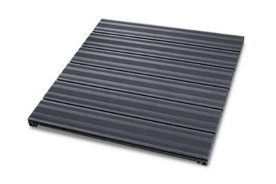 Dalle de terrasse composite anthracite 90 x 90cm ép.50mm
