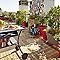 Dalle de terrasse bangkirai lisse 50 x 50 cm