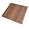 Dalle de terrasse bangkirai lisse 100 x 100 cm