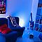 Lampe à poser Philips Living Iris cristal