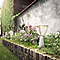 Borne extérieure PHILIPS Robin blanc h.17,4 cm