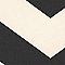 Papier peint expansé sur intissé Lutèce Art chevron noir
