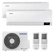 Climatiseur fixe à faire poser Inverter Samsung 5000W - Unité extérieure + 2 unités intérieures