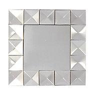 9 miroirs à facettes 5 x 5 cm