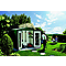 Abri de jardin en métal Biohort Europa 5 vert