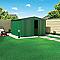 Abri de jardin métal Biohort Europa T7 vert 8,64m²