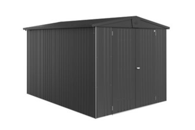 Abri de jardin métal Biohort Europa T6 gris foncé 7 32 m² ép.0 53 mm