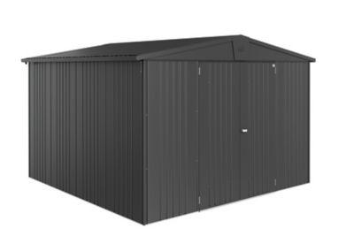 Abri de jardin métal Biohort Europa T7 gris 9 48 m² ép.0 53 mm