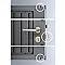 Abri de jardin métal Avantgarde L 2p gris 4,33m²