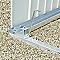 Cadre de sol pour abri de jardin métal BIOHORT Avant-garde L / Highline H2