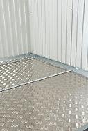 Plaque de fond pour abri de jardin métal Biohort Europa T7