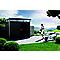 Abri de jardin métal Biohort Highline H4, 6,35 m² ép.0,5 mm