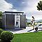 Abri de jardin métal Biohort Highline H4 gris 6,35m²