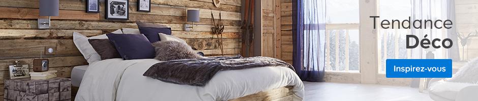 Rideau et voilage castorama for Autrefois home decoration rideaux