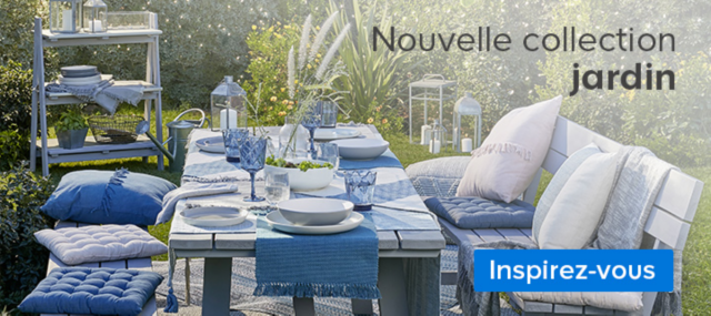 nouvelle collection jardin
