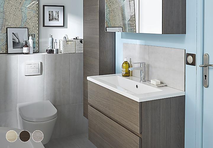 Collections meubles de salle de bains castorama - Meuble salle de bain teck castorama ...